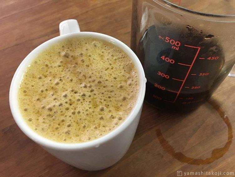 グラスフェッド・ギーで作った完全無欠コーヒー